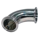 Sanitary Fittings Ferrule Parts EL-F Ferrule 90° Elbow