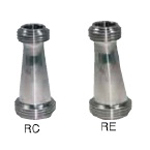 Sanitary Fittings Union Parts RC (RE) -M Screw Reducer (Concentric, Eccentric)