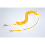Spiral Air Hose Yellow Line TPS Type