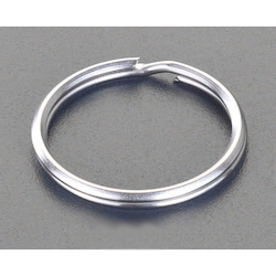 [Stainless Steel] Double Ring (10 pcs) EA638DN-1