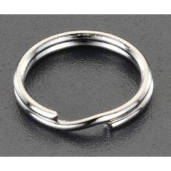 [Stainless Steel] Double Ring (10 pcs) EA638DN-91
