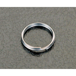 [Stainless Steel] Double Ring (10 pcs) EA638DP-1