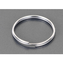 [Stainless Steel] Double Ring (10 pcs) EA638DP-28B