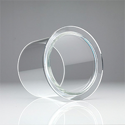 EVAC ISO Tapered™ EVAC Glass™ Long Flange NW 80-160