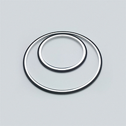 EVAC ISO Tapered™ Elastomer Seal Inner Center Ring NW 80-250