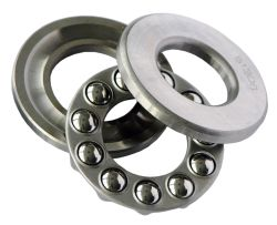 Axial deep groove ball bearings 512, main dimensions - DIN 711/ISO 104, single direction, separable (FAG (Schaeffler))