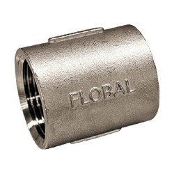 Threaded Pipe Fittings with Socket Rib- From Flobal