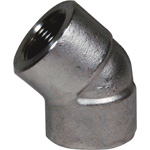45 Degree Elbow High Pressure Fitting - Threaded, PT Series (Fuji Special)