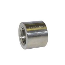 Half Socket Fitting - Female/Female, NPT Thread (Fuji Special)