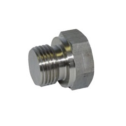 Hexagon Angle Plug Fitting - Male, PF6P/6 (Fuji Special)
