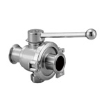 Z Sanitary Manual Two-Way Ball Valve (ZKSS-F) (Fuji Special)