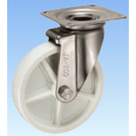 Stainless Steel Caster, Swivel, JA Type, Size: 200 mm