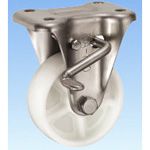 Stainless Steel Caster Holder (with Rotation Stopper) KABZ Type Size 100 mm