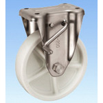 Stainless Steel Caster Holder (with Rotation Stopper) KABZ Type Size 200 mm