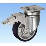 Heavy-Load Caster, Swivel (with Rotation Stopper) JHB Type, Size: 150 mm