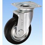 Medium-Load Caster, Swivel, J Type, Size: 130 mm
