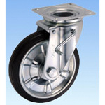 Medium-Load Caster, Swivel, (with Double Stopper), JB Type, Size: 250?mm