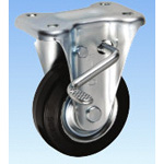Medium Load Caster, Fixed (Includes Rotation Stopper), KBZ Type, Size 100 mm