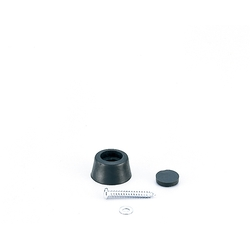Doorstop Cushion / Doorstop Dome with Hidden Screw Cap