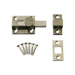 White Angular Latch