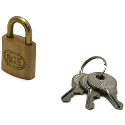 Cylinder Padlock, Different Key Number (Hilogik)