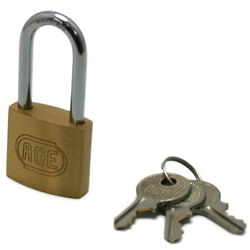 Cylinder Shackle Long Lock, Different Key Number (Hilogik)