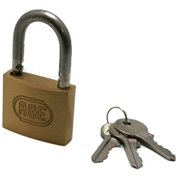 Stainless Steel Shackle W Lock Padlock, Different Key Number (Hilogik)