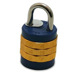 10 Square Coded Lock