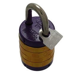 Round 4-Level Combination Lock