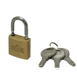 Dimpled Padlock, Designated Key Number (Hilogik)
