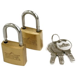 Dimpled Padlock, Same Key Number (Hilogik)