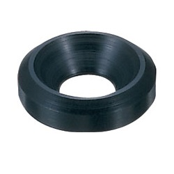 Black Duracon Rosette Washers / DRW-00B