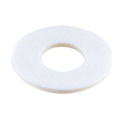 White Fiber Washer / EE-0000-00W