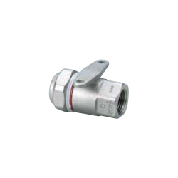Water Faucet Socket with Mechanical Fitting Seat for Stainless Steel Pipes