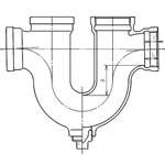 U Trap Drainage Pipe Fitting (Hitachi Metals)