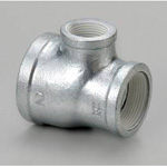 Adapter Tee Fitting with Sealant - Female/Female/Female, 3 Threads Configurable, WS Series (Hitachi Metals)