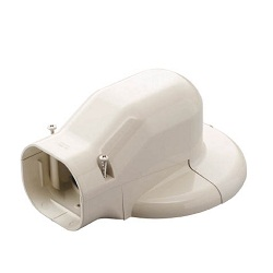 "For Member for Air Conditioning ""Slim Duct LD Series"", Wall Corner Air Conditioning Cap"