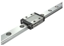 Standard or Wide Rail Miniature Linear Guide - High Grade, Interchangeable, LWL Series (IKO)