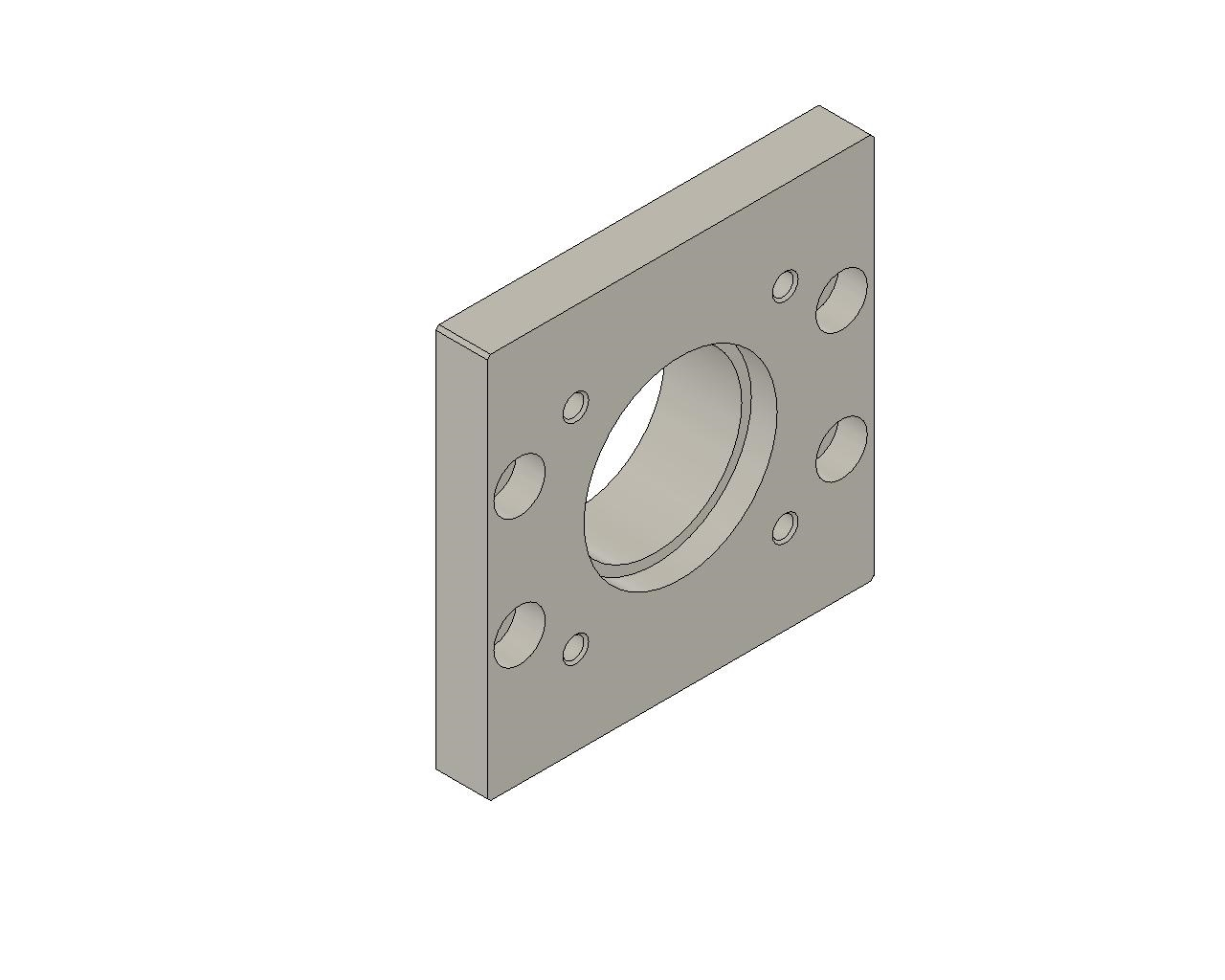 IKO - Motor Bracket for Precision Positioning Table TU
