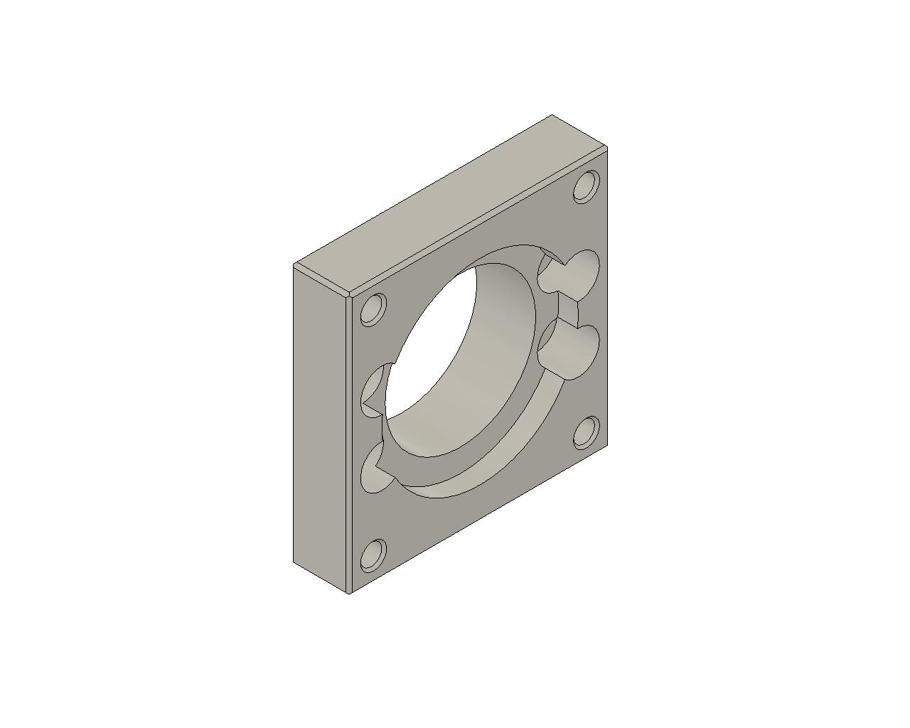 IKO - Motor Bracket for Precision Positioning Table TE-B
