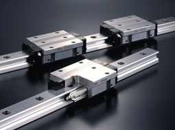 Roller Way Linear Guide - High Grade, Interchangeable, LRX Series (IKO)