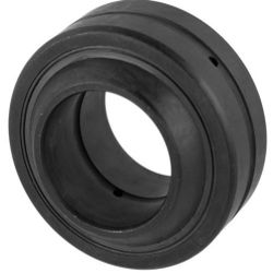 Radial spherical plain bearings GE..-DO-2RS, requiring maintenance, - DIN ISO 12 240-1, lip seals on both sides (INA (Schaeffler))