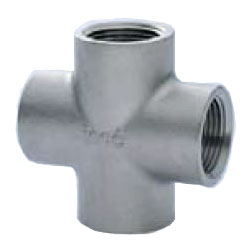 Stainless Steel Screw-in Tube Fitting Cross