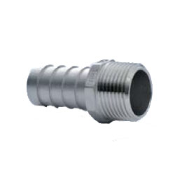 Stainless Steel Screw-in Hose Fitting Hexagonal Hose Nipple