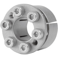 Mechanical Lock Keyless Bushing - Rust Proof, Stainless Steel, MSA Series (ISEL)