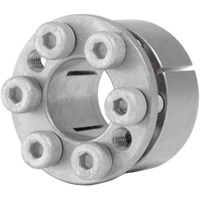 Mechanical Lock Keyless Bushing - Rust Proof, Electroless Nickel Plating, MKA Series (ISEL)