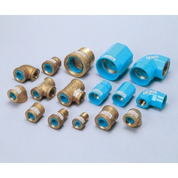 Pipe-End Anticorrosion Fitting for Water Supply Dual-Use Type, Core Fitting, C Core, Nipple