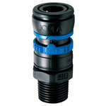 Doppler ES Series (AIR) Socket, Male Screw-Type