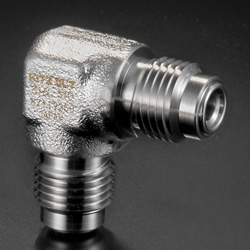 High-Purity Gas System Fittings - CVC - Union Elbow