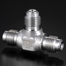High-Purity Gas System Fittings - CVC - Union Tee
